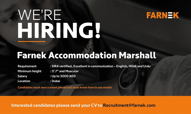 Recruitment- Marshall